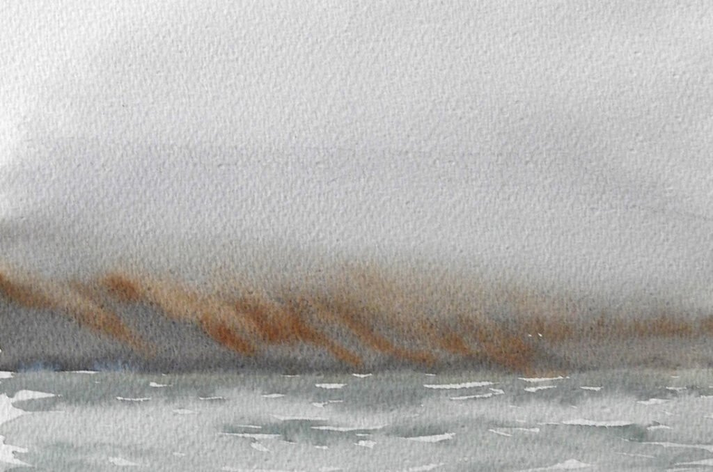 Svalbard fog