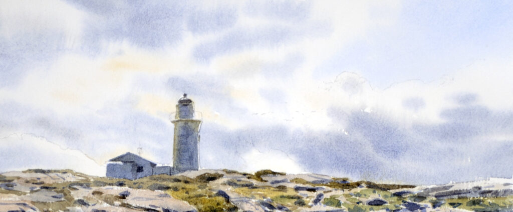 The lighthouse at Hallands Väderö