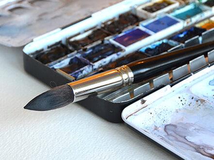 Kurser i akvarell och teckning